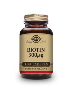 Solgar Biotin 300 mcg 100 tableta