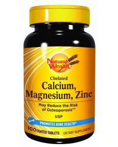 Natural Wealth Kalcium, magnezijum, cink 100 tableta