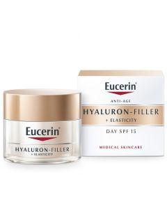 Eucerin Hyaluron Filler + Elasticity dnevna krema spf15 50 ml
