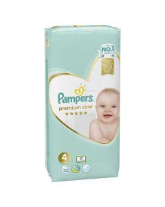 Pampers Premium Care VP pelene, veličina 4 (9-14kg), 52 komada