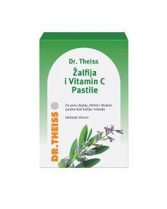 Dr.Theiss Žalfija i vitamin C 24 pastila