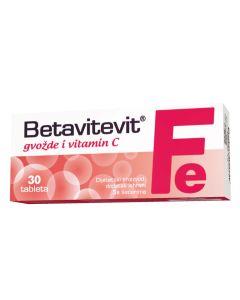 Betavitevit Gvožđe i vitamin C 30 tableta