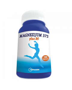 Magnezijum 375 plus B6 100 kapsula