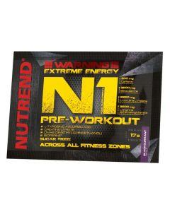 NUTREND N1 Pre-workout - Grapefruit, 17g
