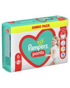 Pampers Pants JP pelene gaćice, veličina 6 (15+ kg), 44 komada