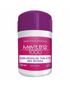 MeVit B12 1000 mcg 30 tableta