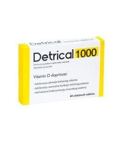 Detrical 1000 ij 60 tableta