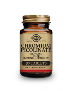 Solgar Hrom pikolinat 90 tableta