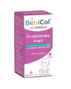 BebiCol Forte kapi sa cinkom i vitaminom D3 10 ml