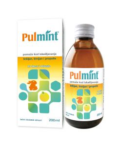 Pulmint sirup 200 ml