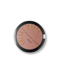 Aura kompaktni puder Velvet Matte 314 Chocolate 9 g