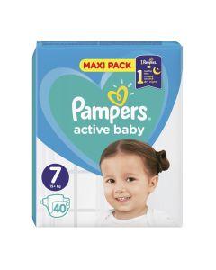 Pampers Active Baby VPP pelene, veličina 7 (15+ kg), 40 komada