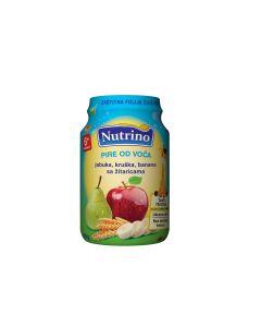 Nutrino Pire od voća - Jabuka, Kruška, Banana, Žitarice 190g