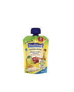Nutrino Voćni pire - Jabuka, Kruška, Banana, Žitarice 100g