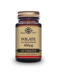 Solgar Folate 400 mcg 50 tableta
