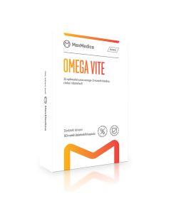 Maxmedica Omega Vite - Omega 3 sa cinkom i vit E, 60 kapsula