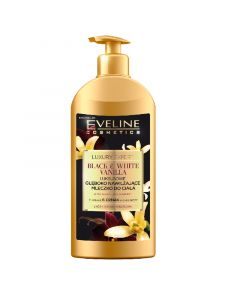 Eveline Luxury Expert BLACK&WHITE VANILLA body milk 350ml