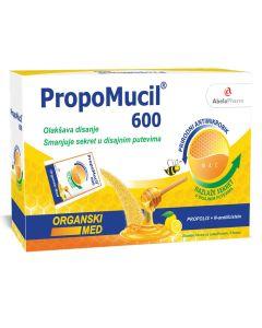 PropoMucil 600 organski med 5 kesica