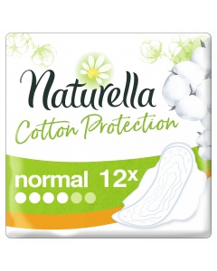 Naturella Cotton Normal ulošci, 12 komada