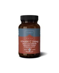 Terranova Vitamin C 250mg complex, 50 kapsula
