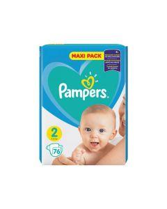 Pampers Active Baby JPM pelene, veličina 2 (4-8 kg), 76 komada