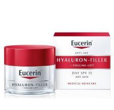 Eucerin Hyaluron-Filler + Volume-Lift dnevna krema za suvu kožu spf15 50 ml