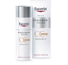 Eucerin Hyaluron Filler CC krema tamna spf15 50 ml