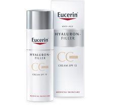 Eucerin Hyaluron Filler CC krema svetla spf15 50 ml