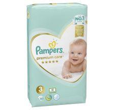 Pampers Premium Care VP pelene, veličina 3 (6-10kg), 60 komada