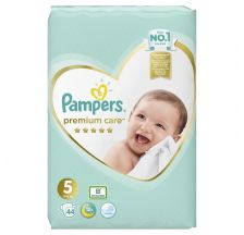 Pampers Premium Care VP pelene, veličina 5 (11-16kg), 44 komada
