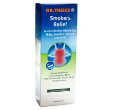 Dr.Theiss Smokers relief sirup za pušače 250 ml