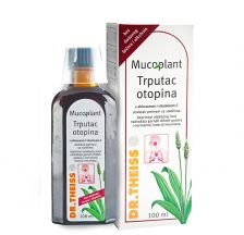 Dr.Theiss Mucoplant sirup sa bokvicom, ehinaceom i vitaminom C 100ml