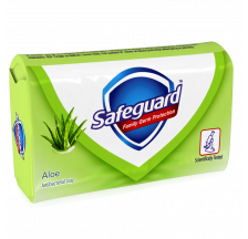 Safeguard Aloe antibakterijski sapun, 90g