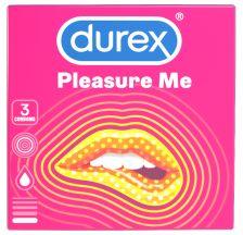 Durex Pleasure Me, 3 kondoma
