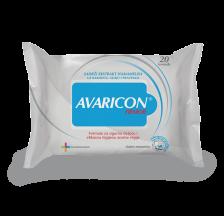 Avaricon hemor 20 vlažnih maramica