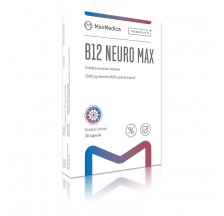 Maxmedica B12 Neuro Max, 30 kapsula