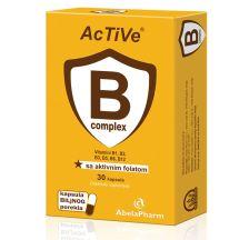 Active B complex sa folatom 30 kapsula
