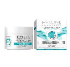 Eveline +6 3D Collagen day&night cream 50ml