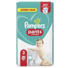 Pampers Pants JP pelene gaćice, veličina 3 (6-11 kg), 60 komada