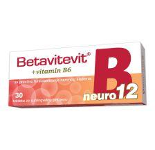 Betavitevit neuro B12 + vitamin B6 30 sublingvalnih tableta