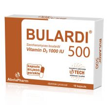 Bulardi 500 sa vitaminom D3 10 kapsula