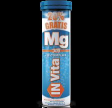 In Vita Mg300 + B complex 24 šumećih tableta