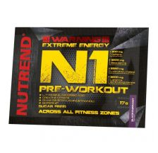 NUTREND N1 Pre-workout - Blackcurrant, 17g