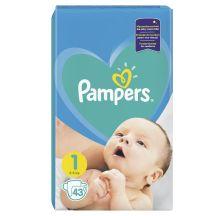 Pampers Active Baby VP pelene, veličina 1 (2-5 kg), 43 komada