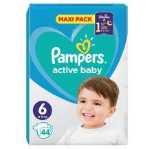 Pampers Active Baby VPP pelene, veličina 6 (13-18 kg), 44 komada
