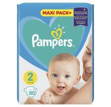 Pampers Active Baby JPM pelene, veličina 2 (4-8 kg), 80 komada