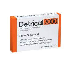 Detrical 2000 ij 60 tableta