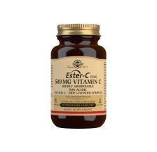 Solgar Ester C plus 500 mg 50 kapsula