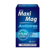 Maxi Mag Antisttres 30 tableta