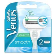 Venus Smooth Sensitive dopune za ženski sistemski brijač, 2 komada